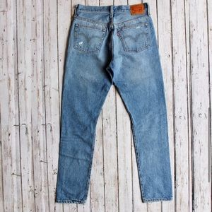 Men's Levi's Distressed Straight Jeans 501 S